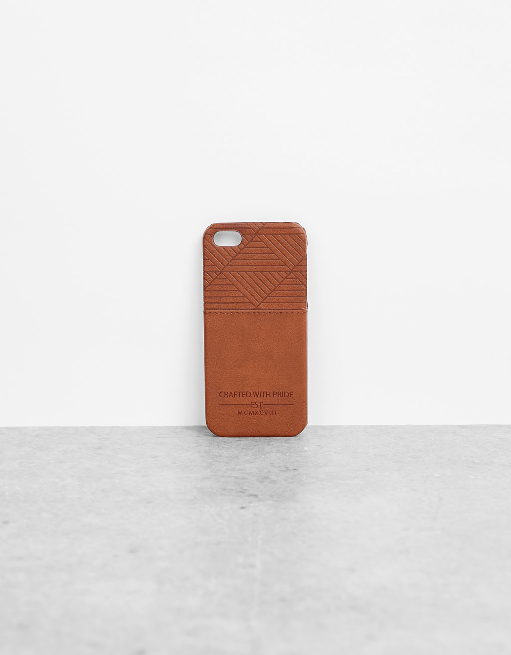 iPhone 5/5s geometric print case