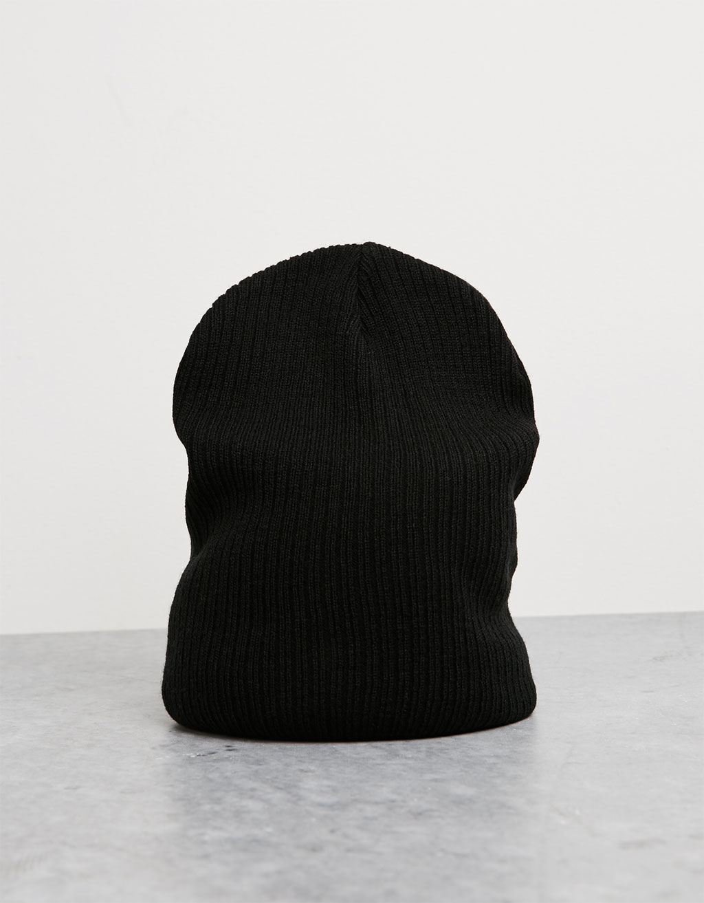 Loose ribbed beanie