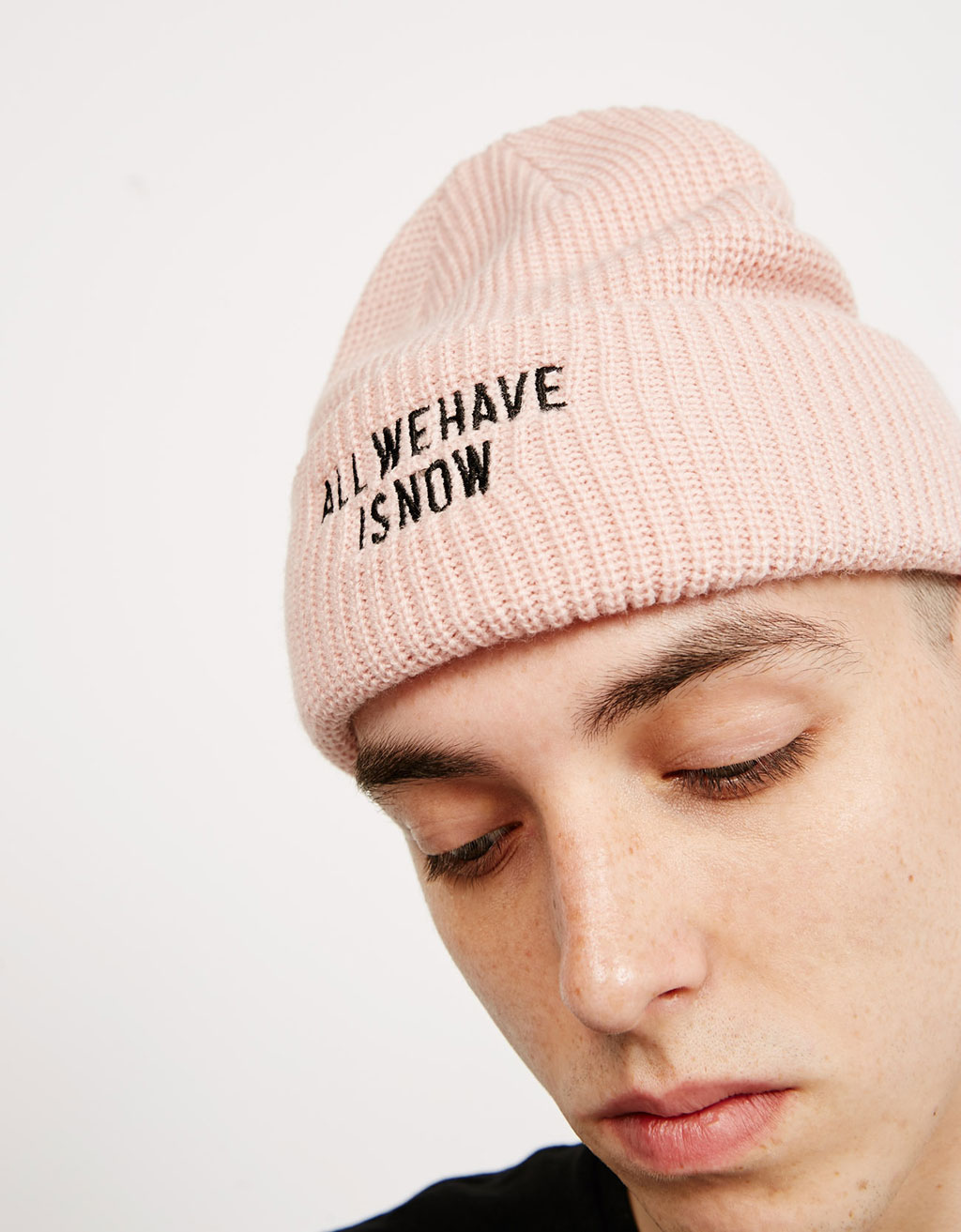 'Fisherman' embroidered beanie