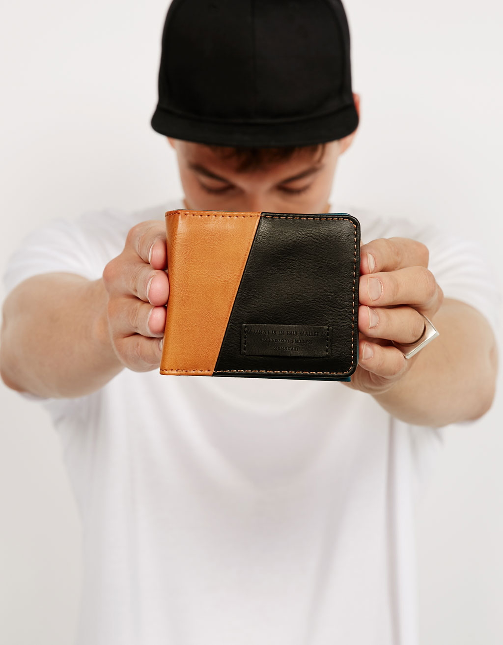 Colour block wallet