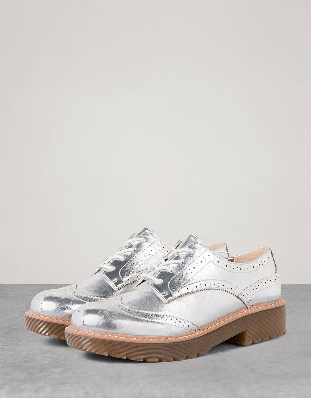 Zapato Vestir Metalizado