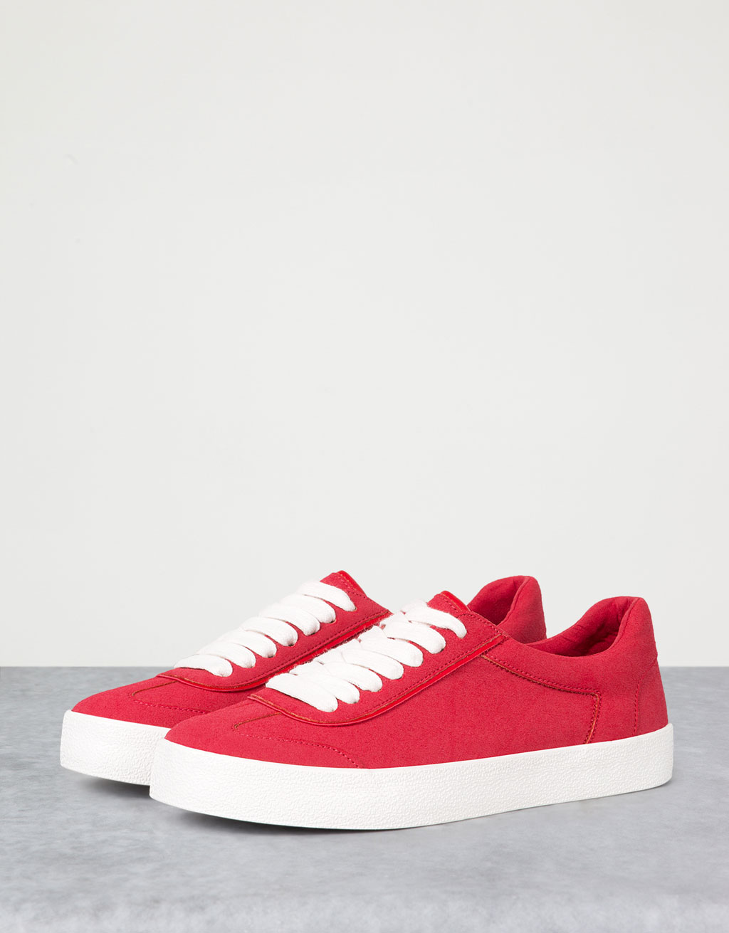 Basic single-colour sneakers