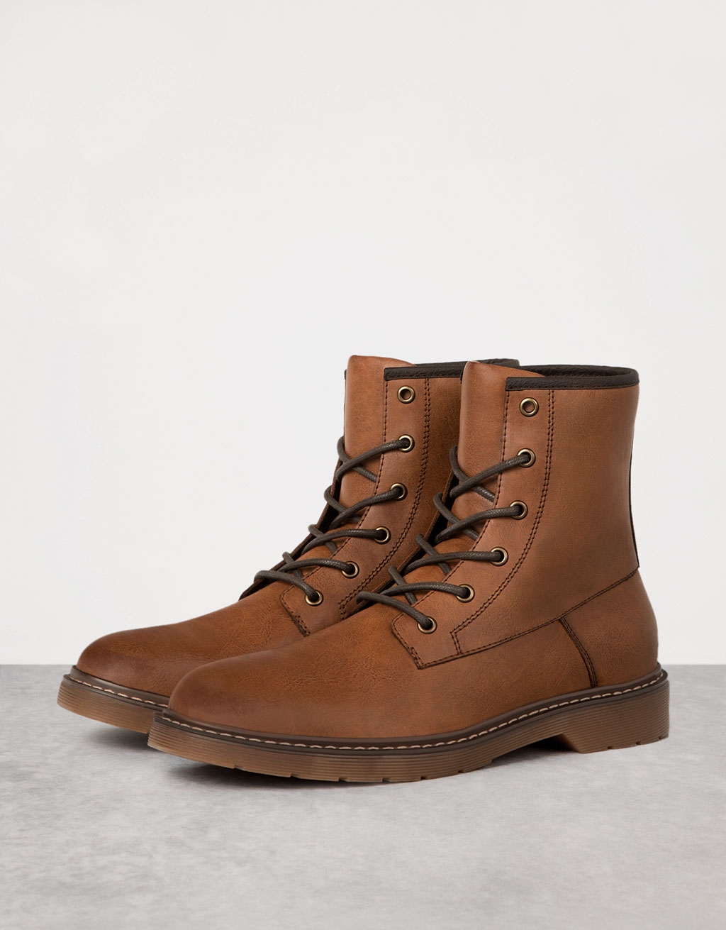 Men's lace-up dressy boots