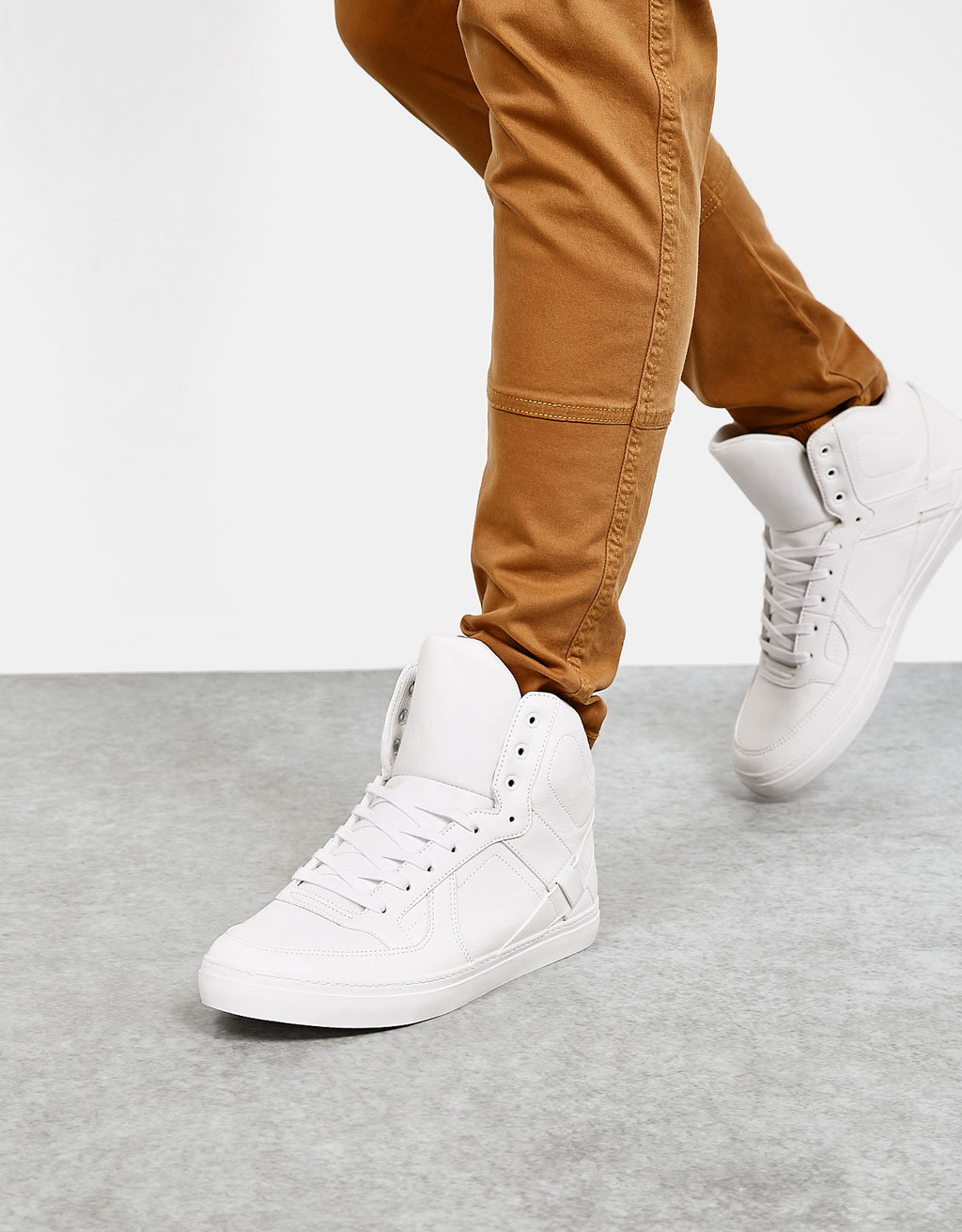 Men's single-colour high tops