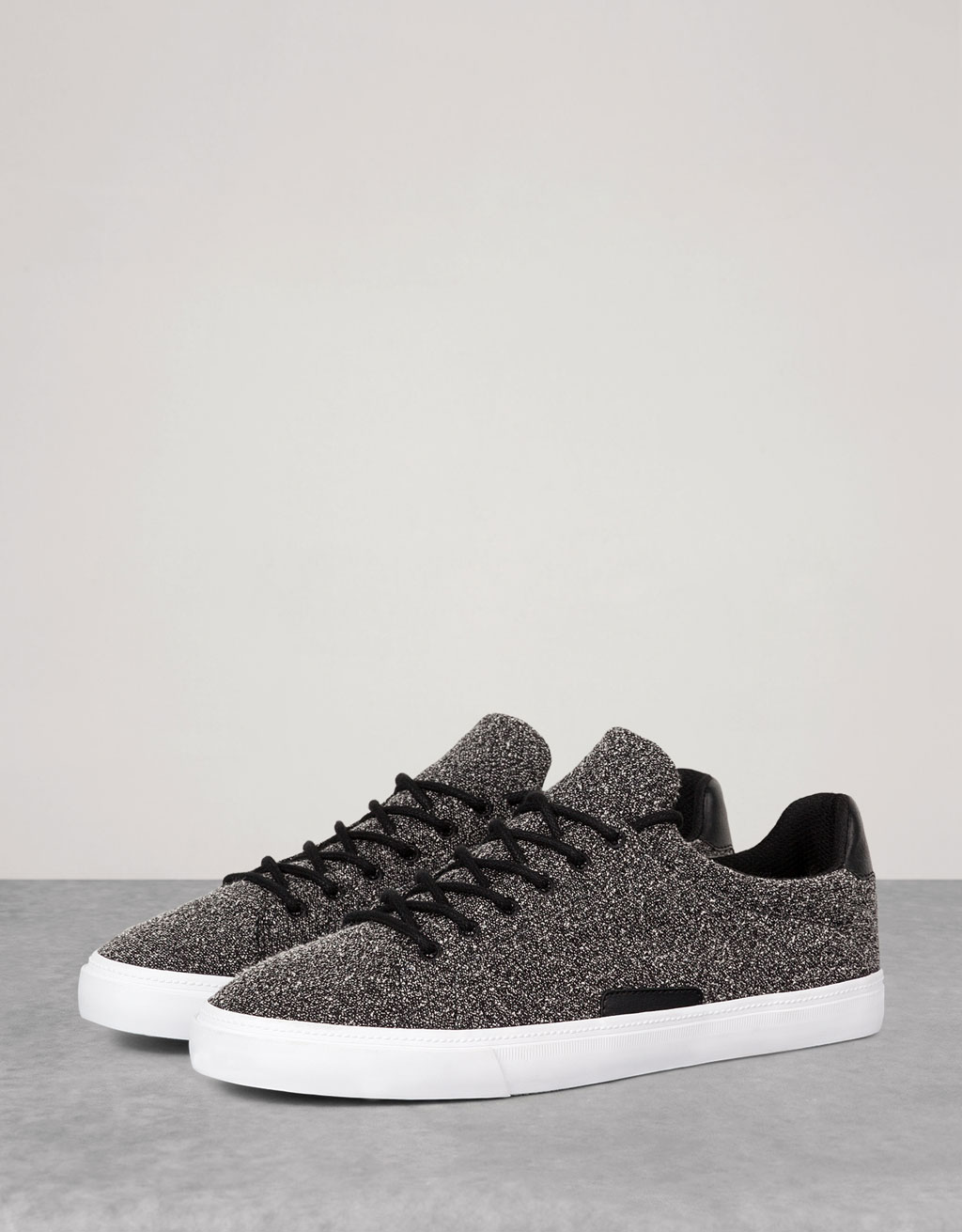 Men's flecked sneakers
