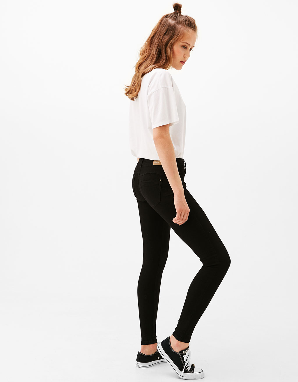 5 pocket push-up trousers