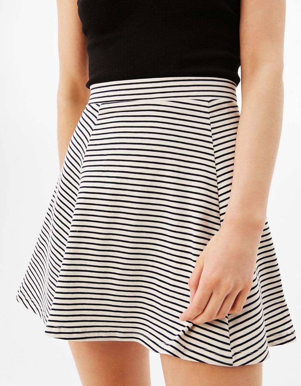 Short skater skirt