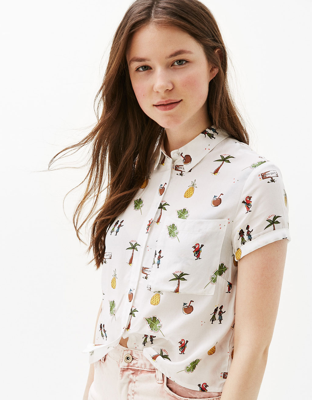 Women's Shirts - Autumn Winter Collection 2017 | Bershka