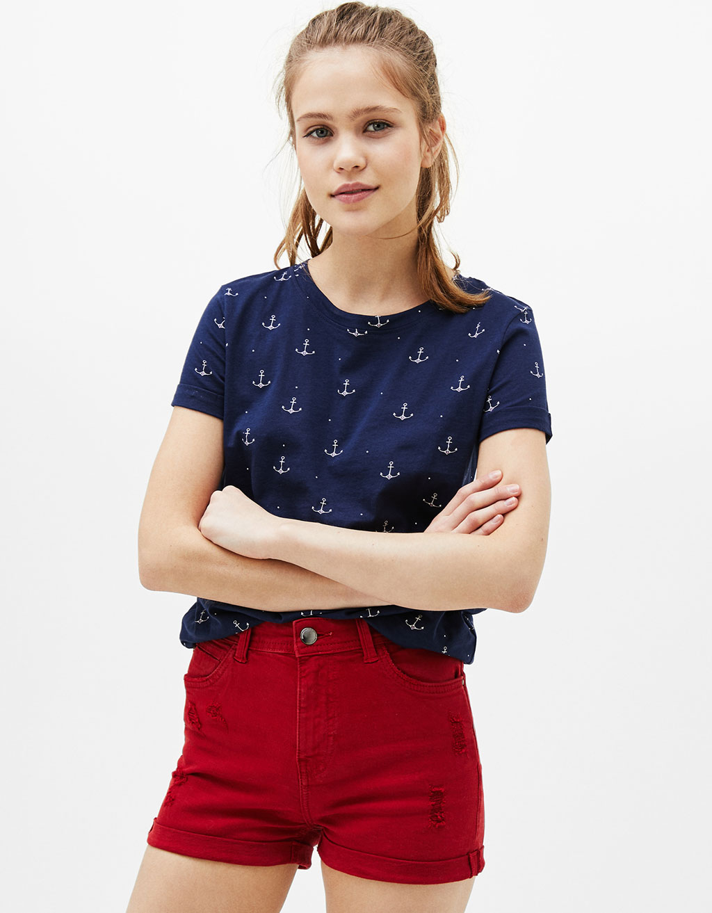 T-shirt cotone stampa all over