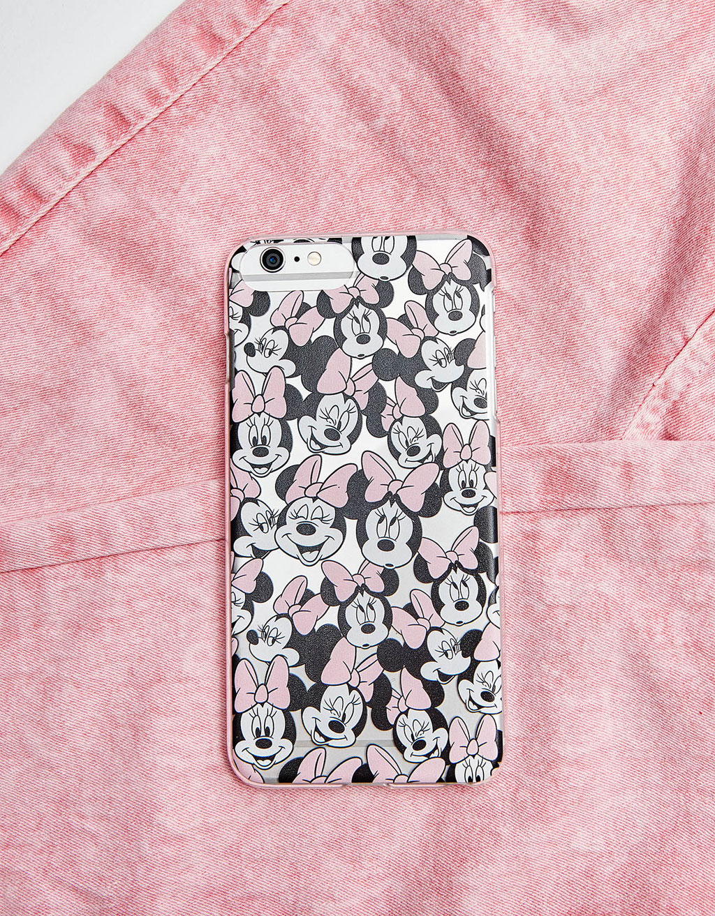 Carcasă fețele Minnie iPhone 6 Plus/7 Plus