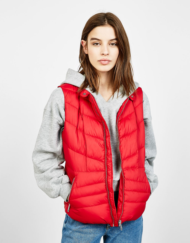 Fine nylon vest