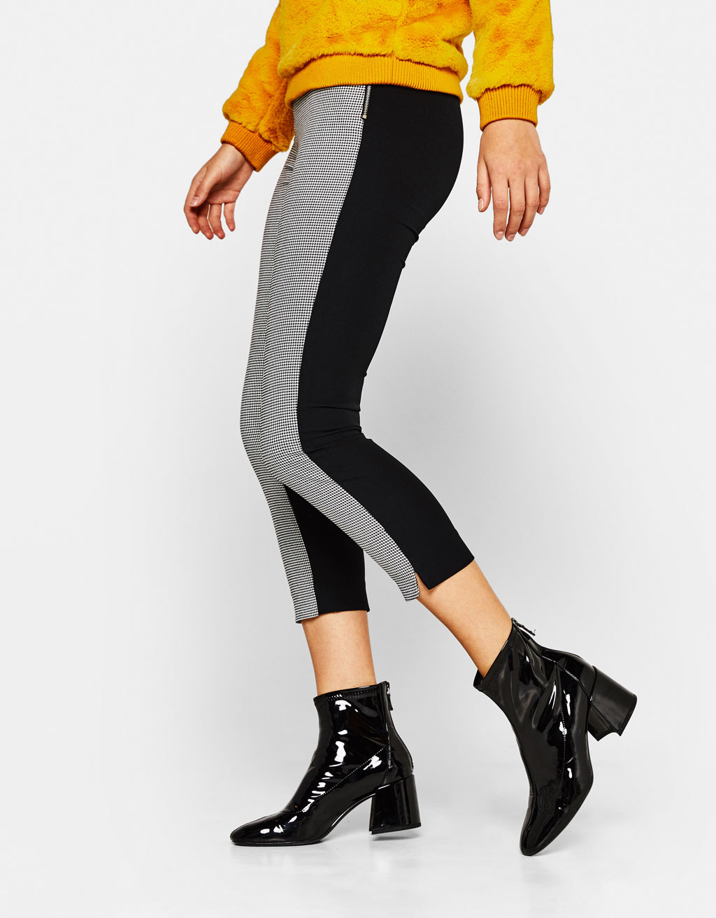 Cropped combined pants