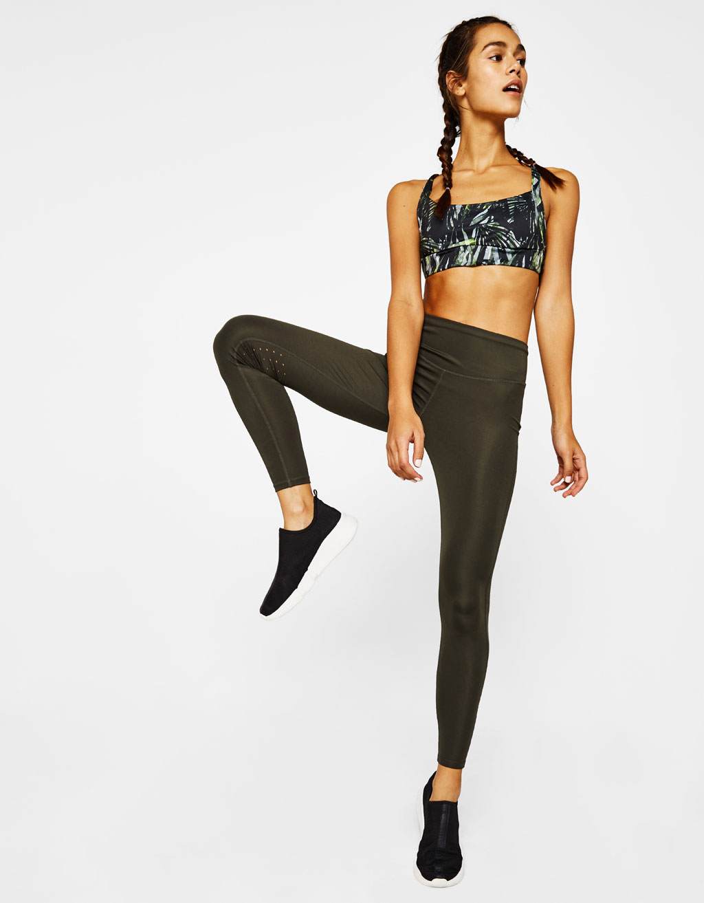 Technical sports leggings