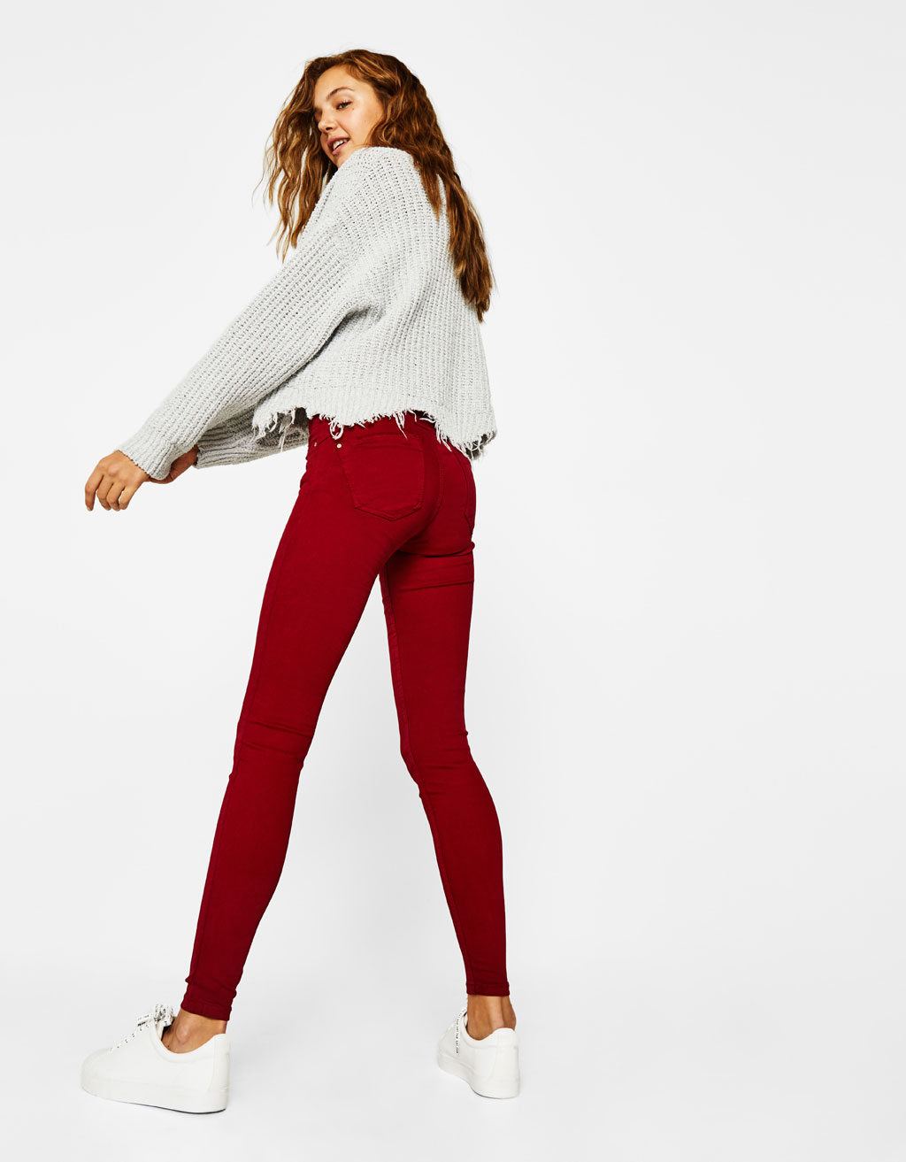 5-pocket push-up pants