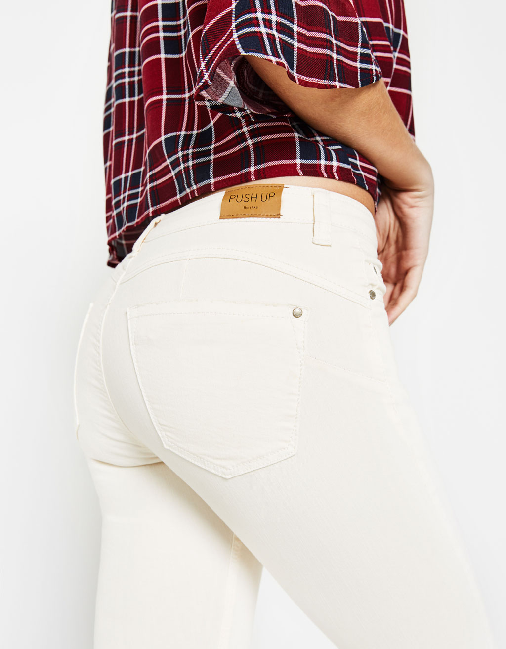 5-pocket push-up trousers