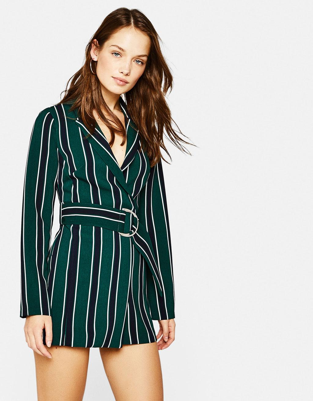 Robe bustier longue veste