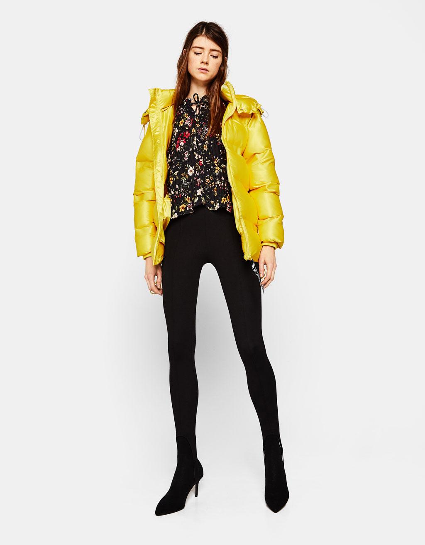 Collezione bershka primavera estate 2016 abbigliamento low cost anni - Giacca A Vento Puffy Con Cappuccio