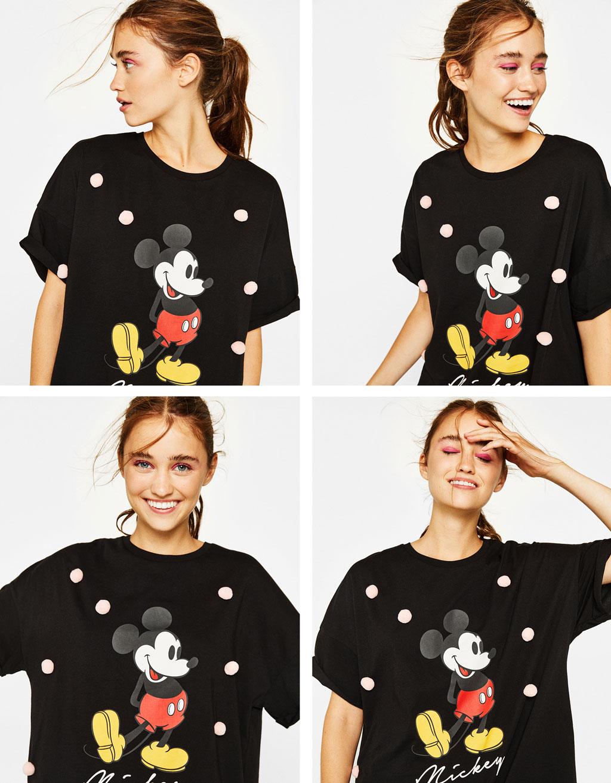 미키마우스 오버사이즈 티셔츠