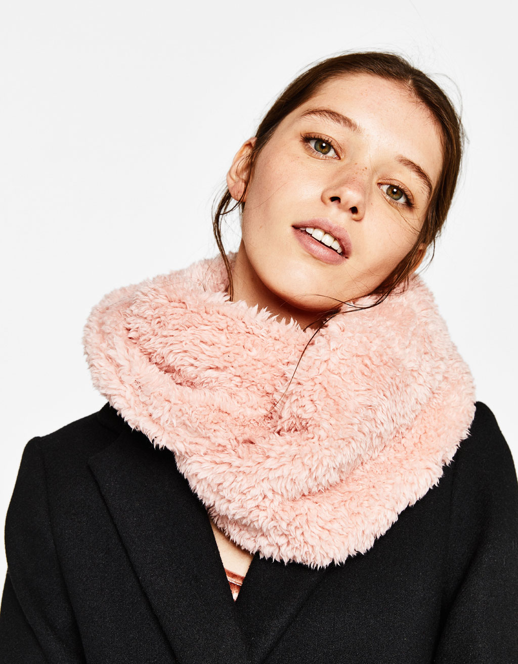 Double layer infinity scarf