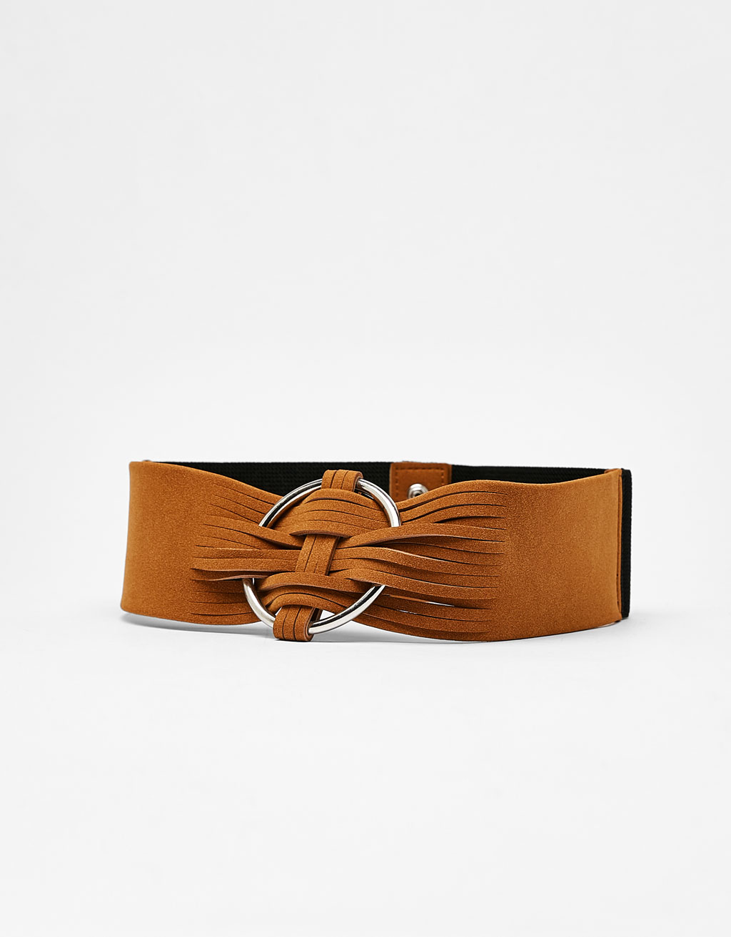 Wide cut-work belt