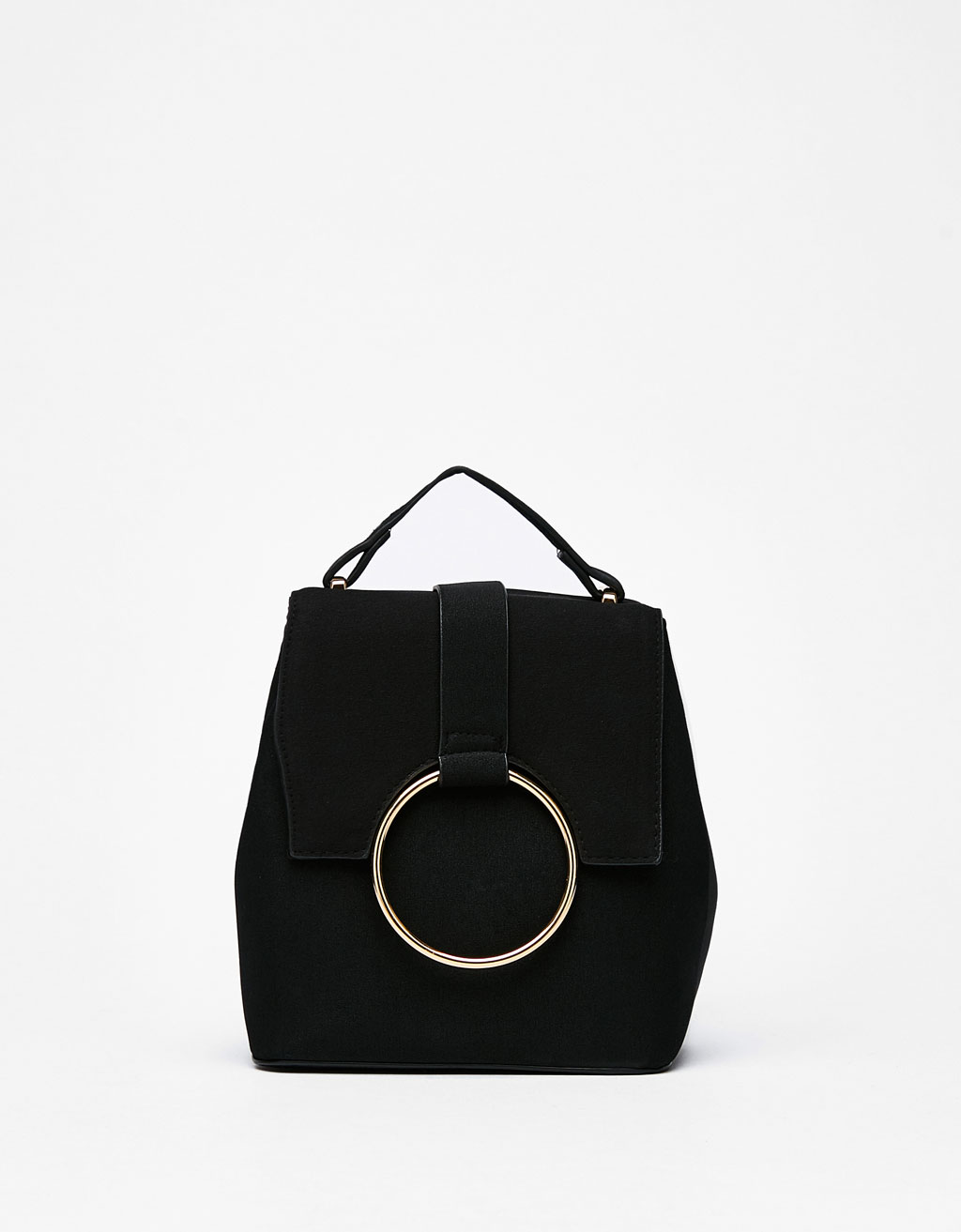 Mini backpack with ring