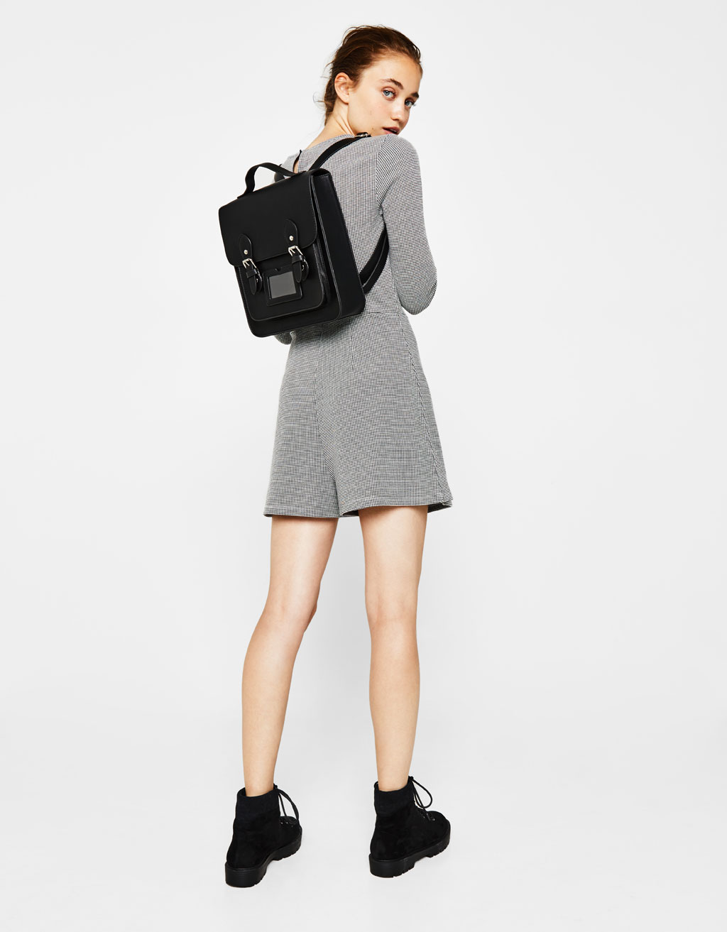 Square college backpack