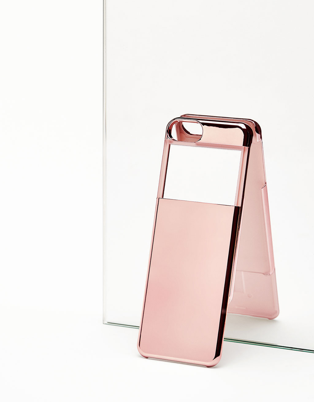 Metallic mirrored iPhone 7 cover