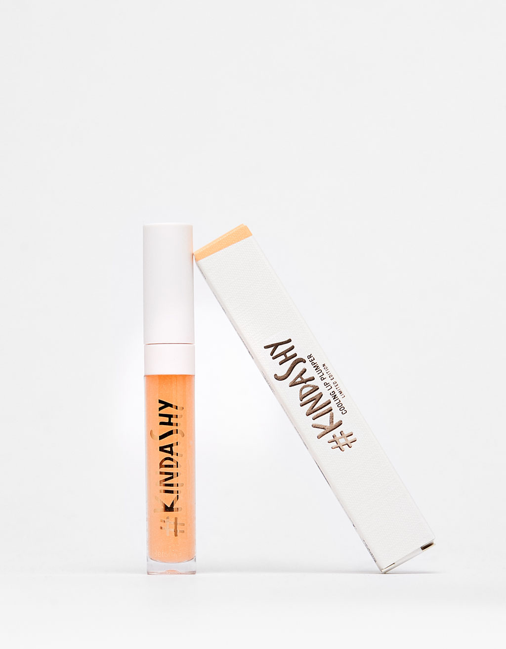 (P2) BERSHKA LIP PLUMPER KINDASHY 03 PIM PAM PEACH 6ML