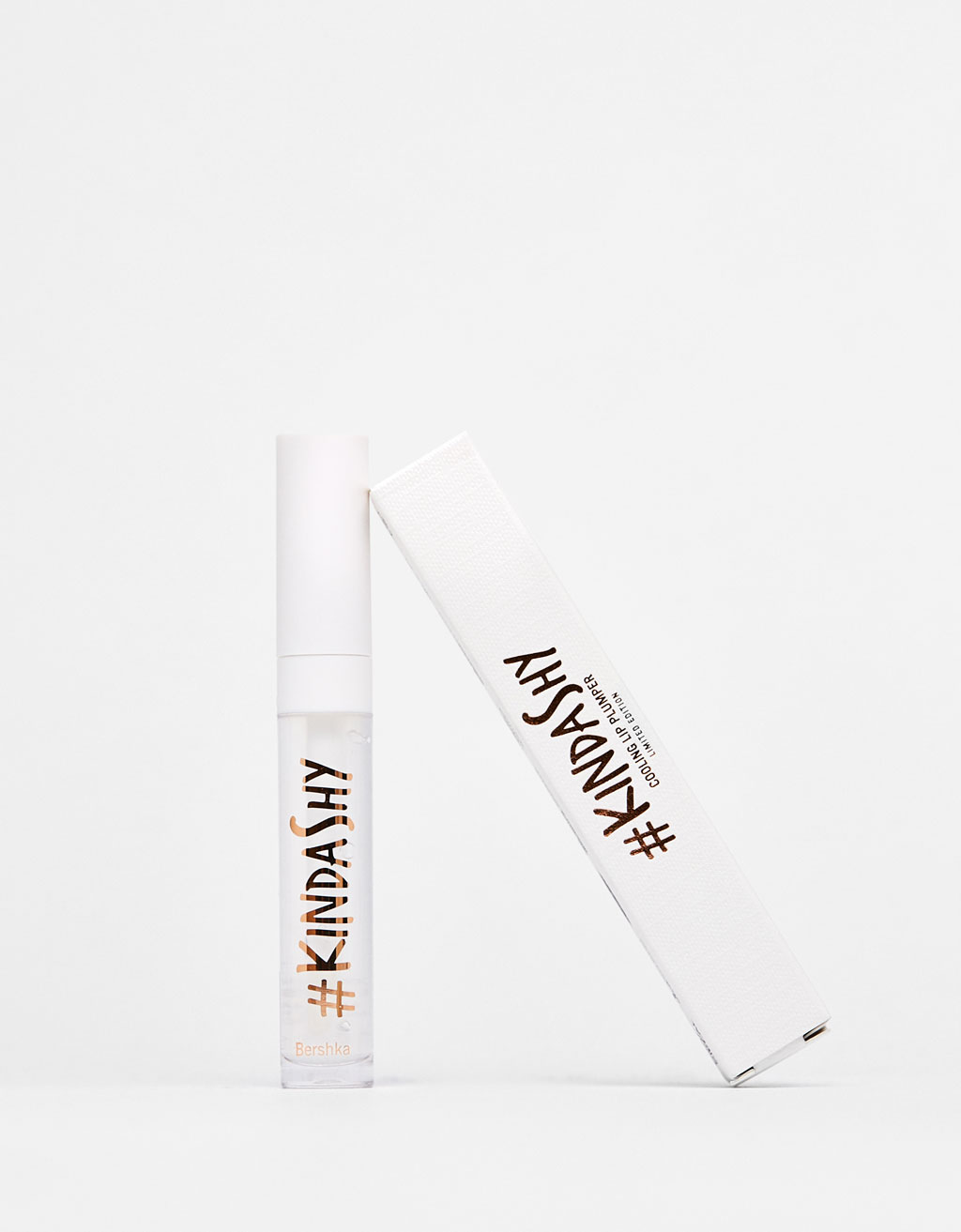 (P2) BERSHKA LIP PLUMPER KINDASHY 01 CRYSTAL POP 6ML