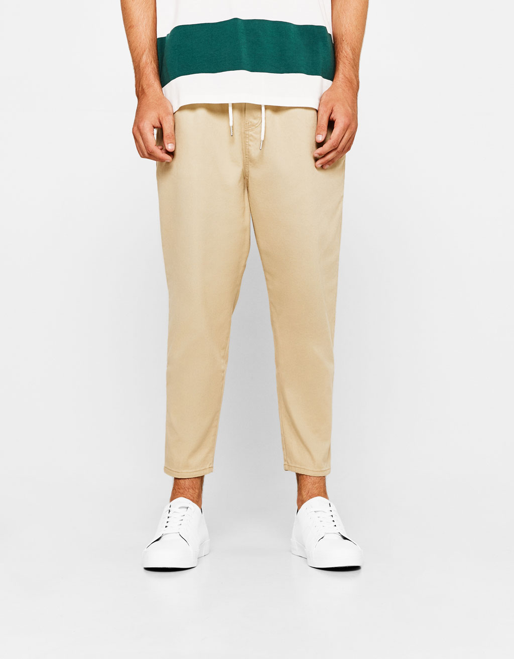 Baggy fit jogging trousers