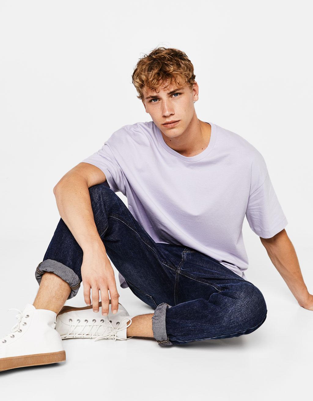 Leg day t shirts men s polo shirt slim - Boxy Fit T Shirt