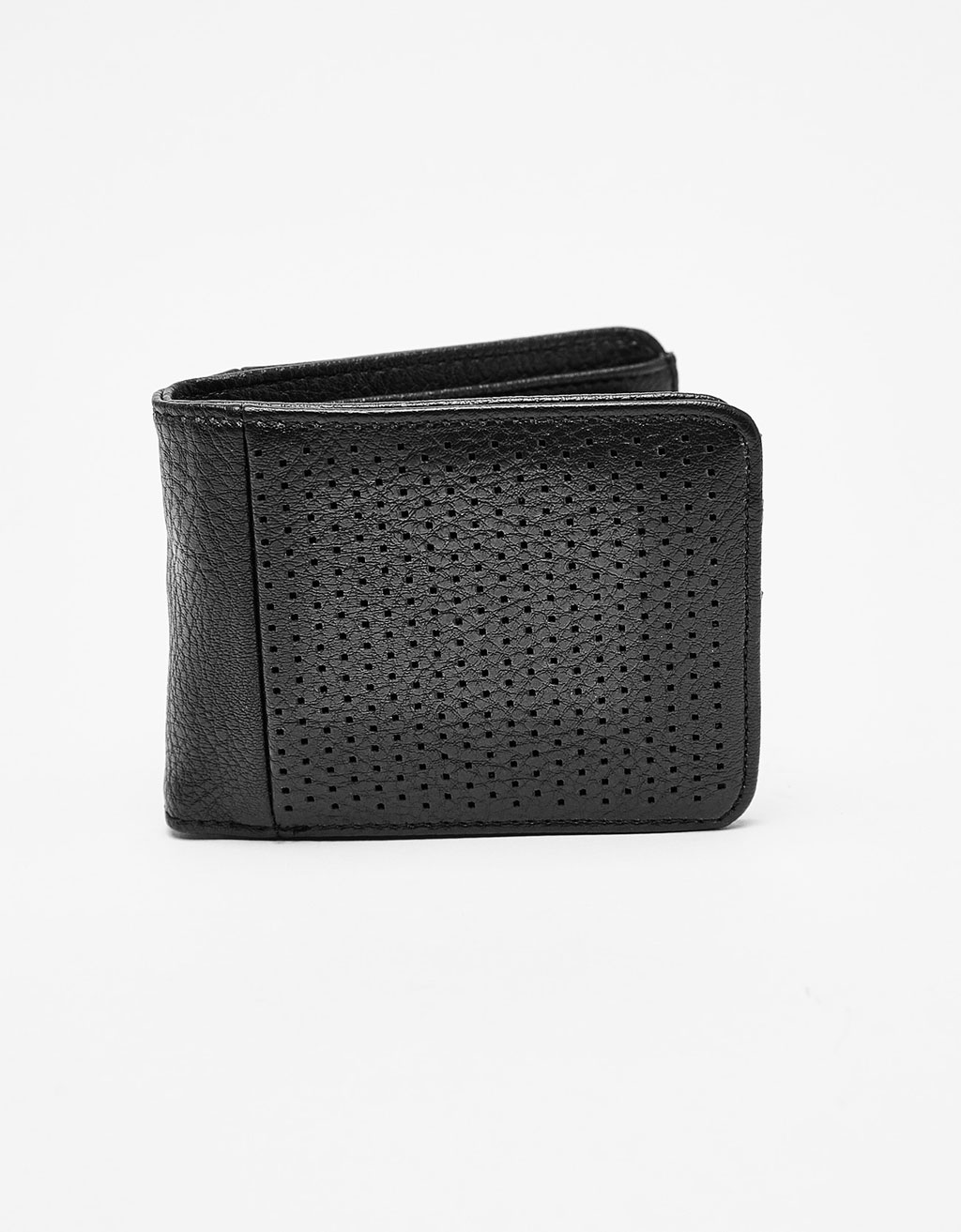 Coin purse with perforations