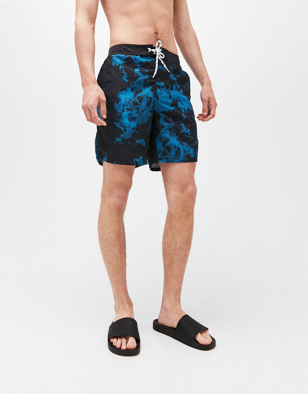 Megkötős batikolt fürdőruha
