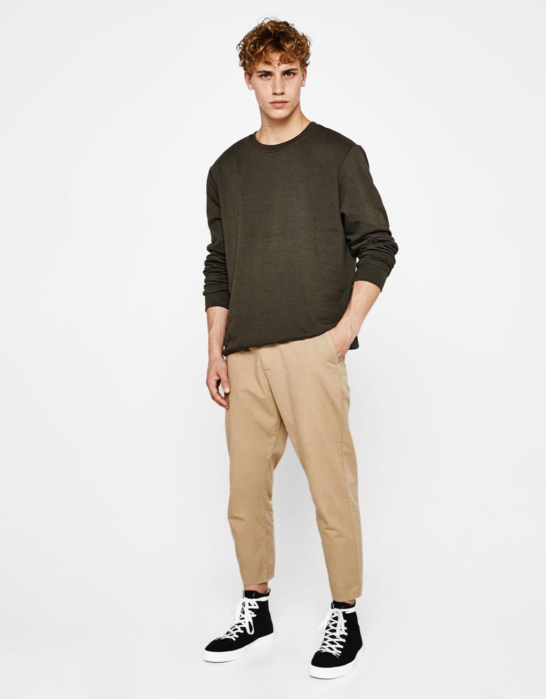Pantalons xinesos cropped