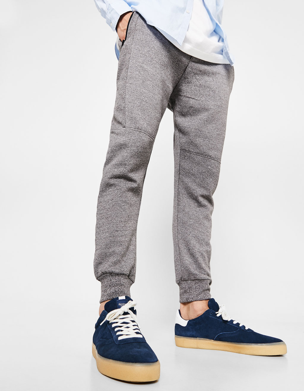 Joggers with drawstring