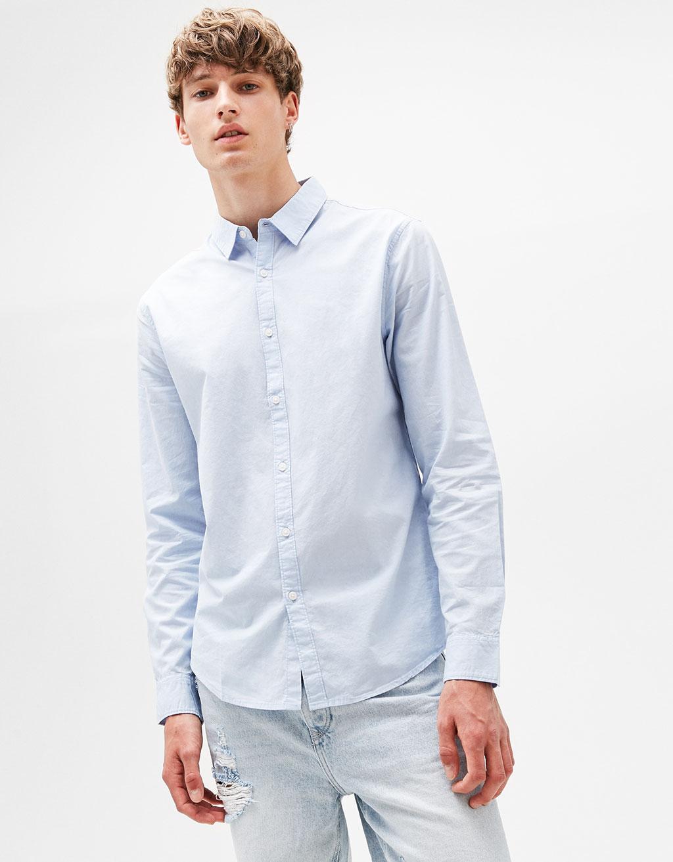 Popelínová košeľa