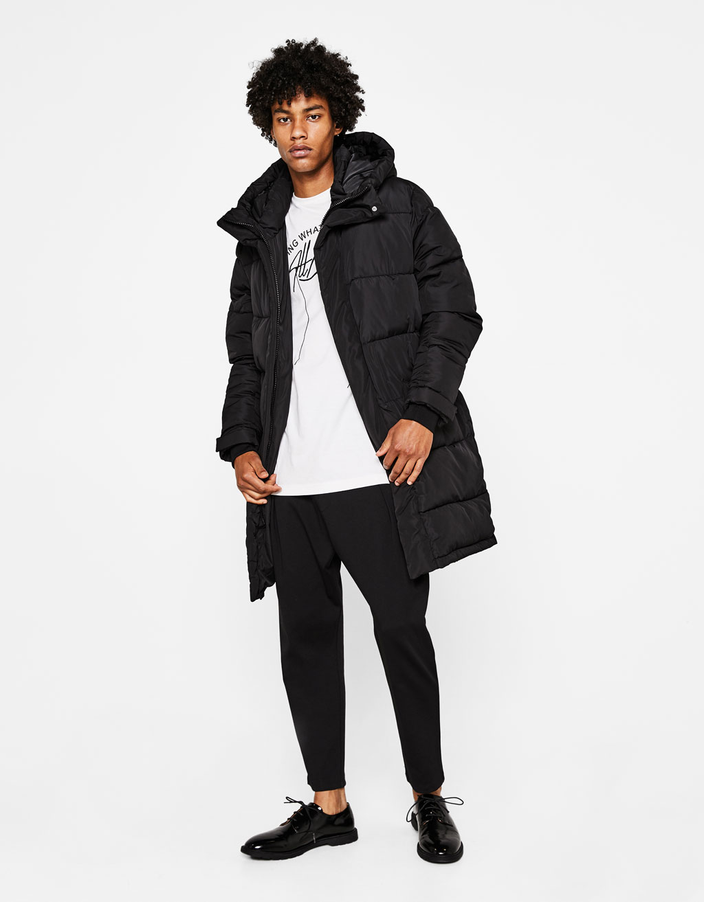 Manteau puffy long