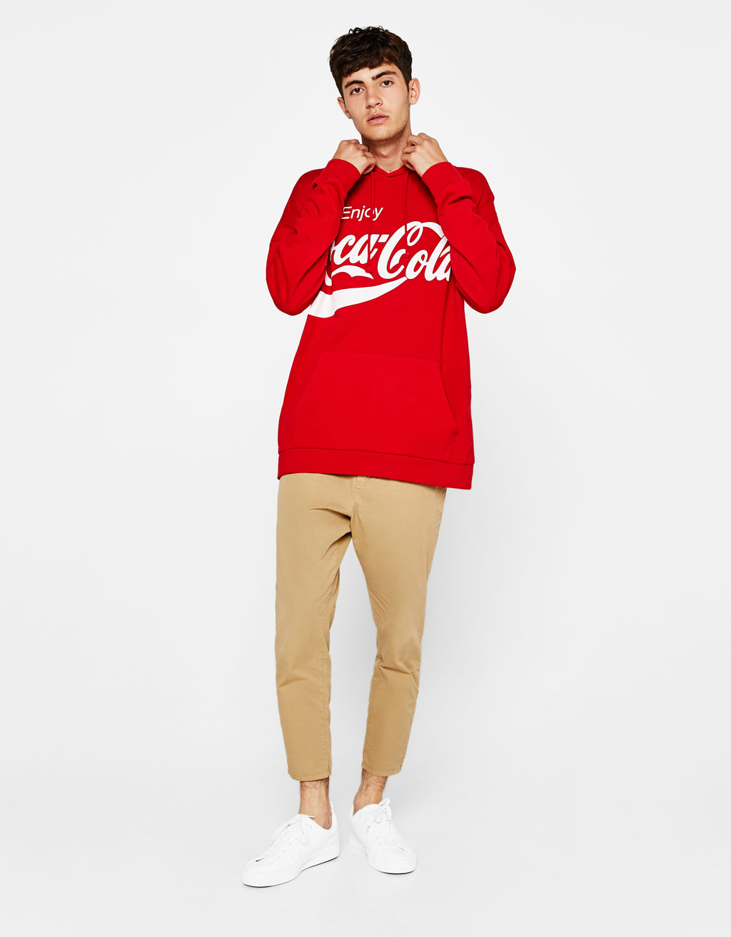 Sweat Coca-Cola