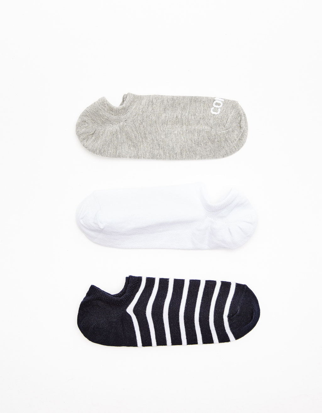 Set of 3 invisible socks