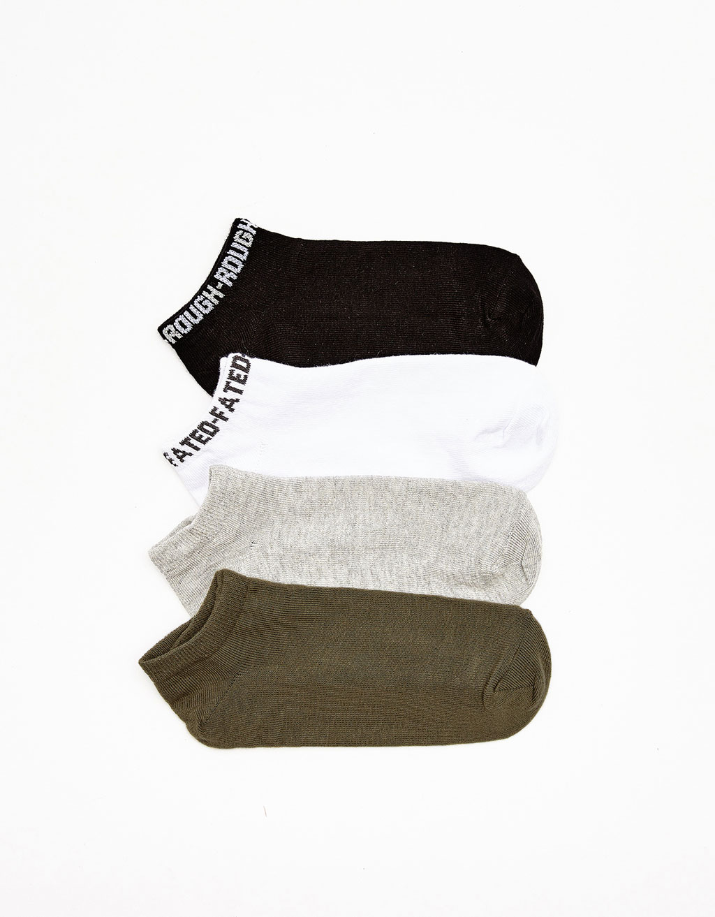 Set of 4 ankle socks