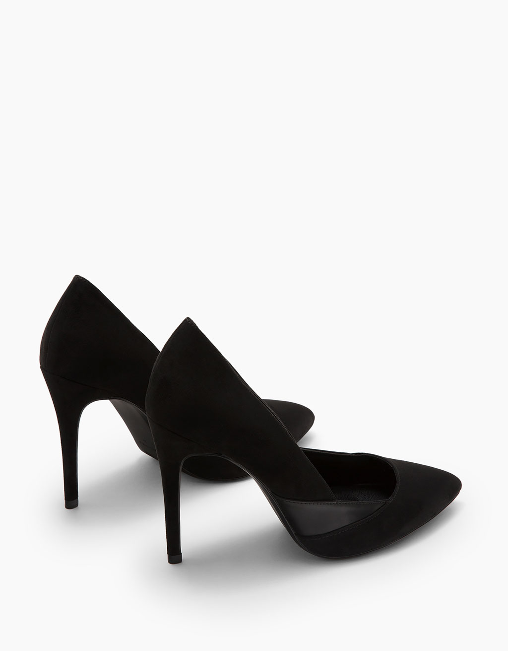 Combined stiletto heel shoes