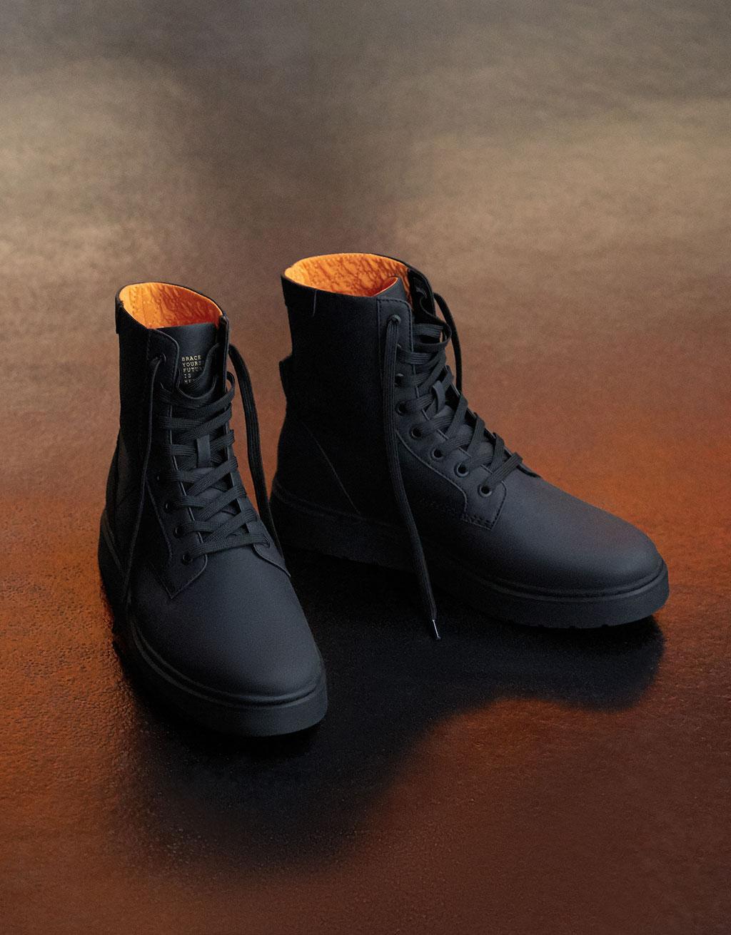 Men's combined biker boots