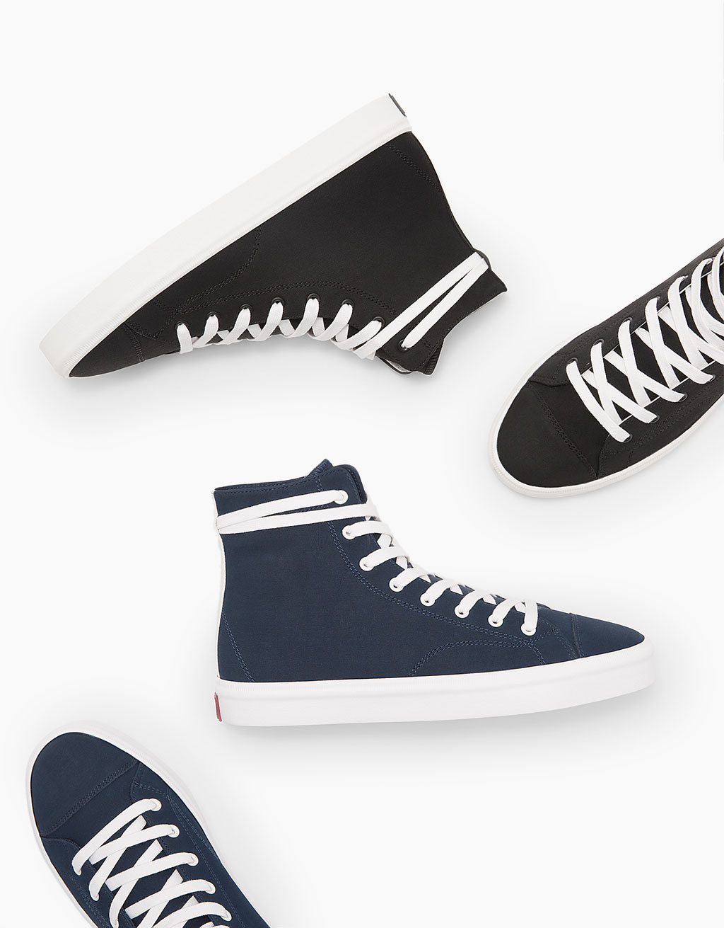 Men's high top sneakers