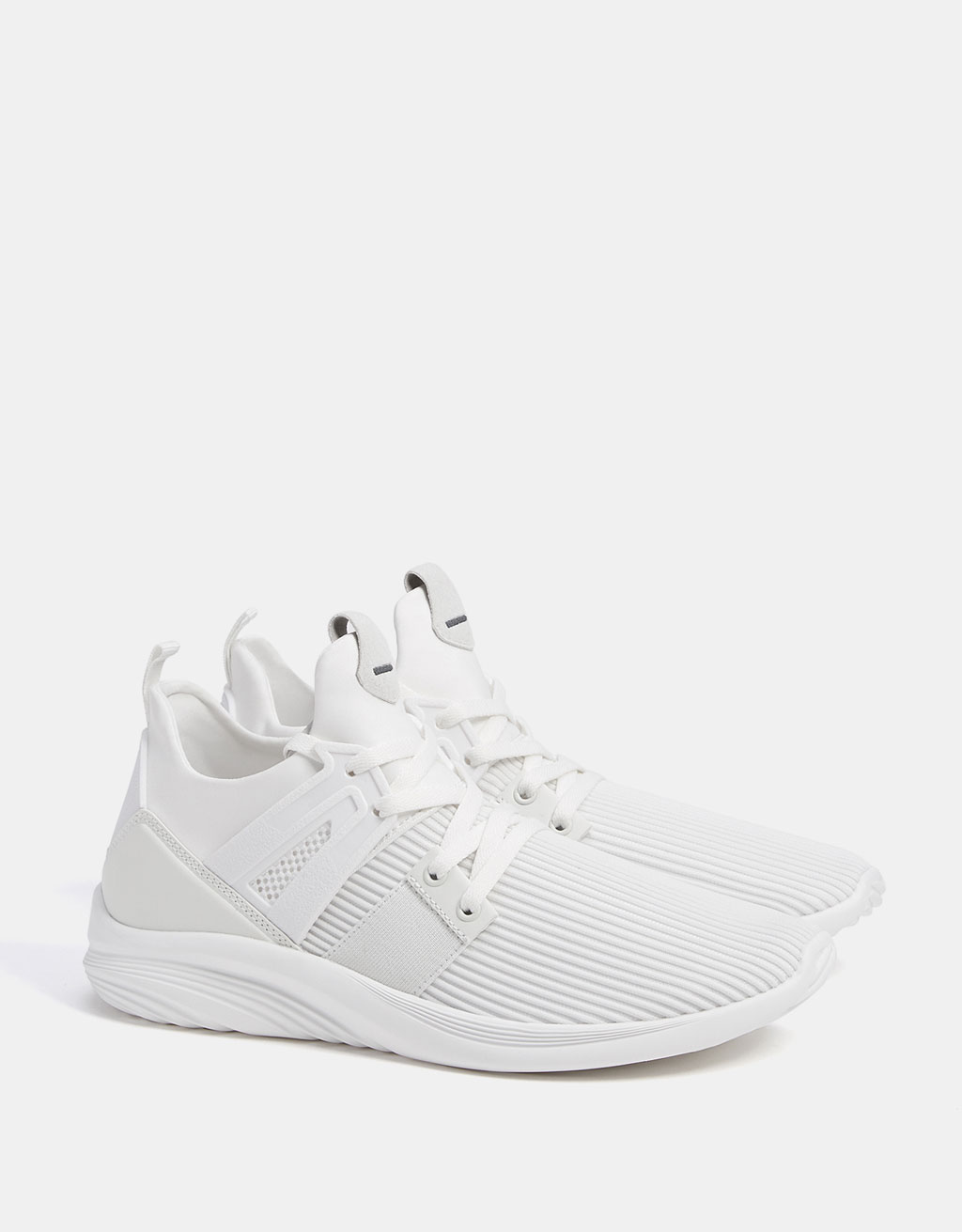Men's fabric technical sports shoes