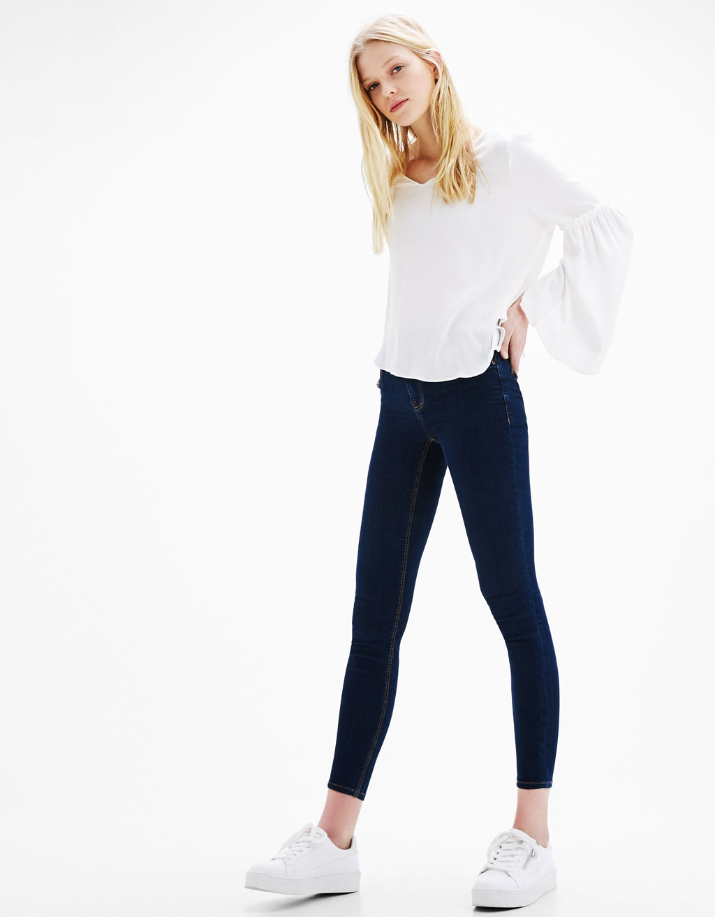 Five Pocket Skinny Fit Jeans