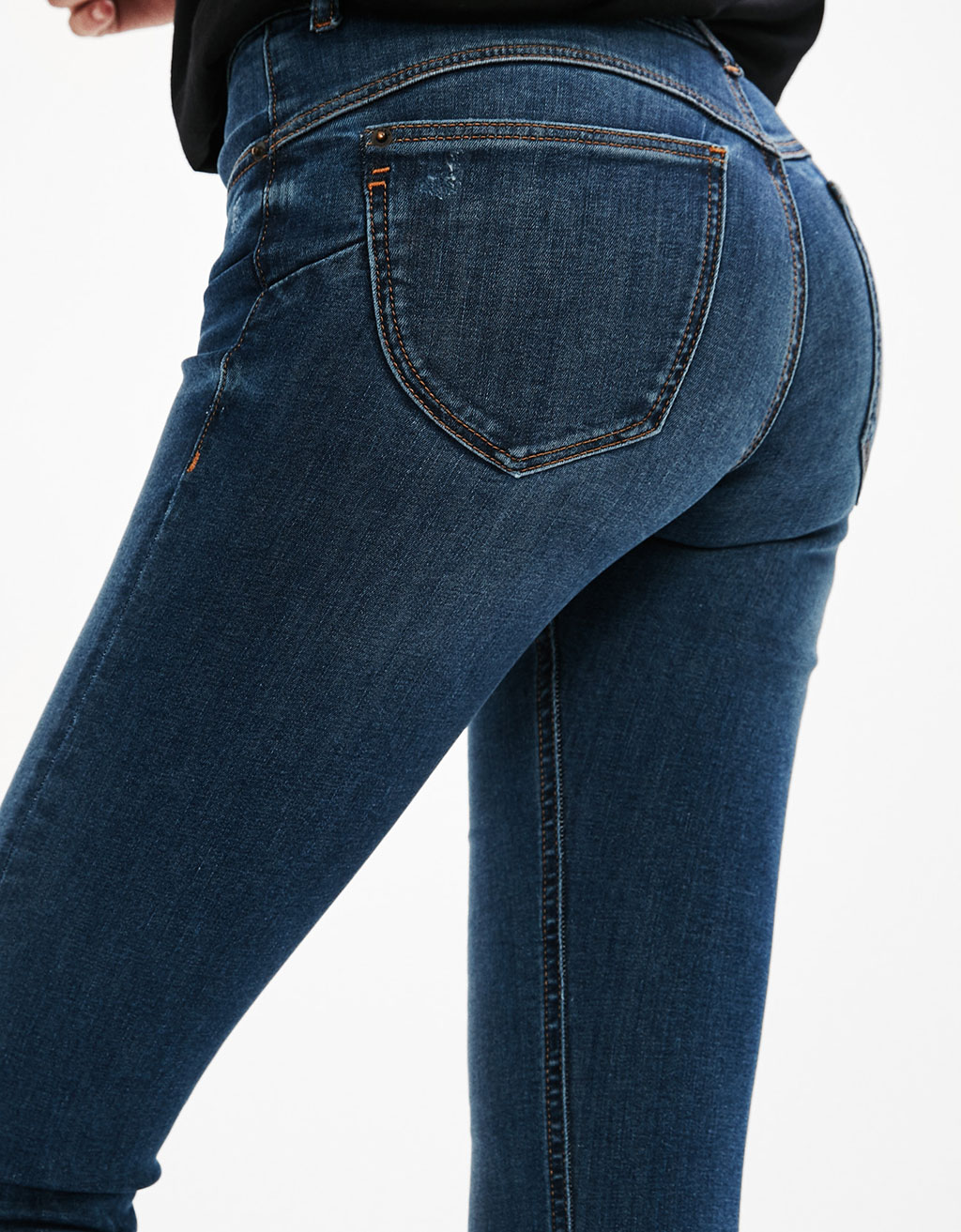 Ripped Push-up Jeans
