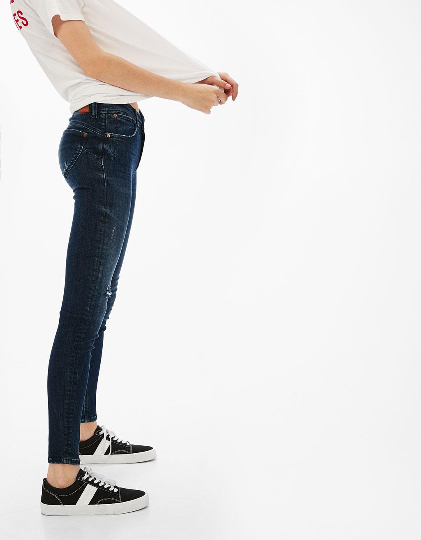 Jeans Push Up rotos