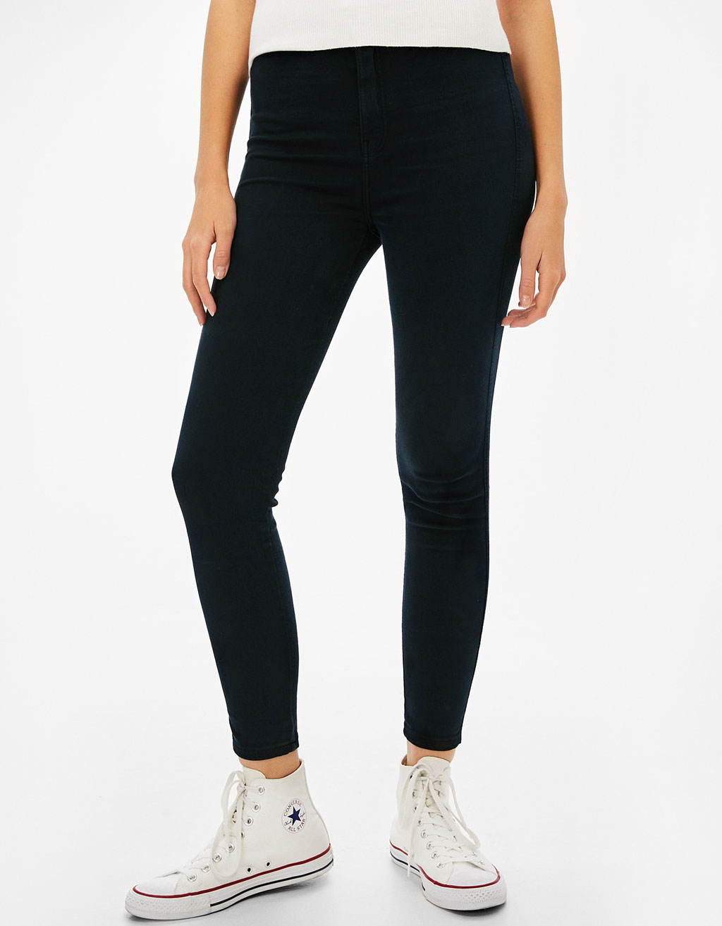Basic high-rise jeggings