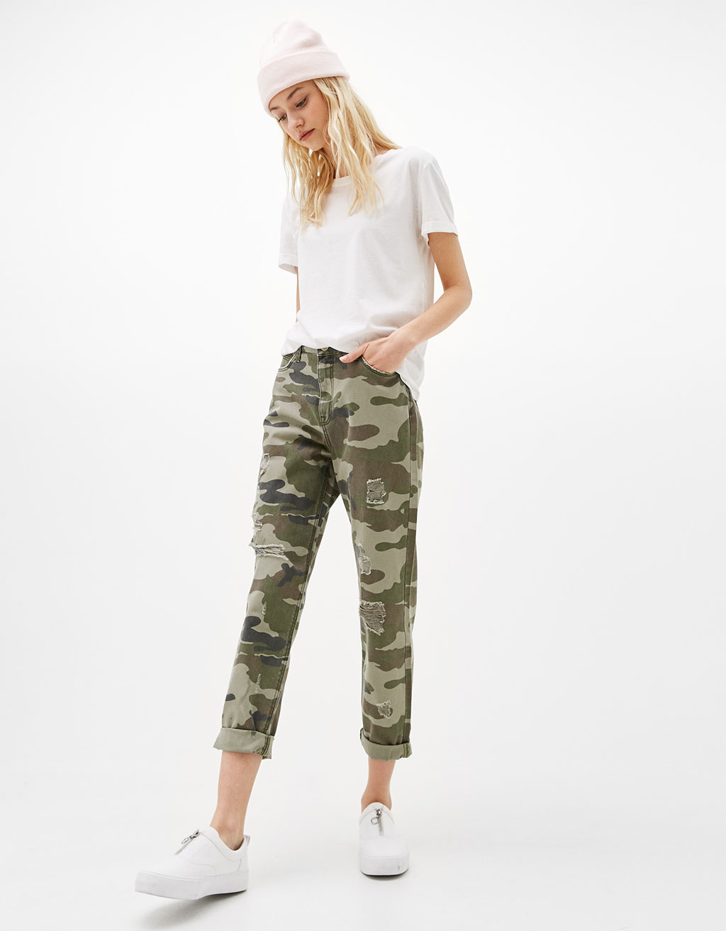 A2A (BLOBER)(MIX)PANTALON TIRO ALTO MOM FIT