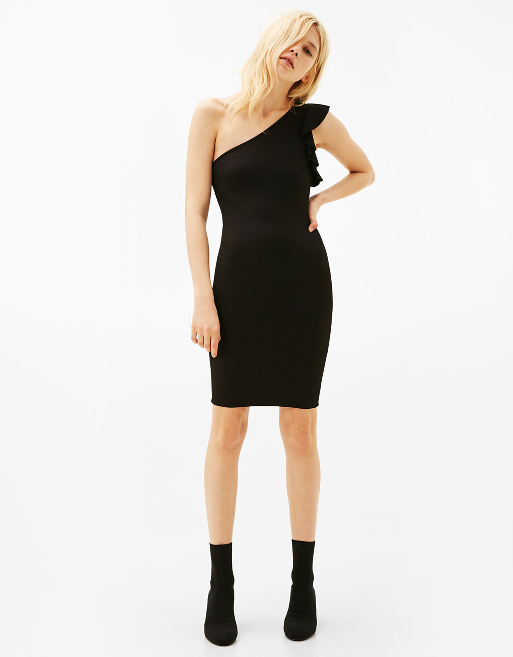 Short asymmetric dress